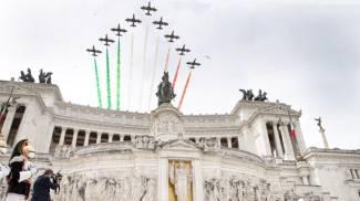 Festa della Repubblica: le Frecce Tricolori (Foto Quirinale)