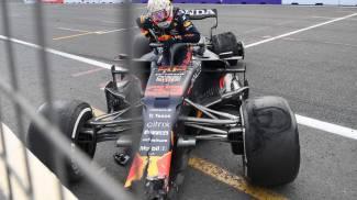 Verstappen uscito di pista