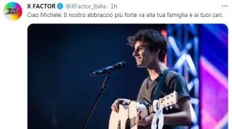 X Factor per Michele Merlo (Twitter)