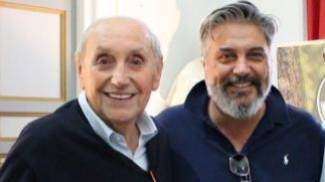 Alberto Pascucci con il figlio Mario