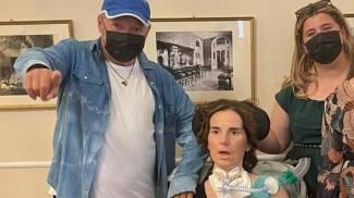 Vasco Rossi ha incontrato Antonella, malata di Sla