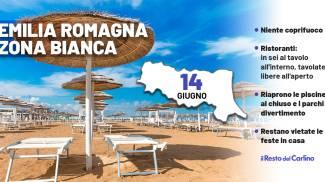Zona bianca: nuove regole in Emilia Romagna dal 14 giugno 2021