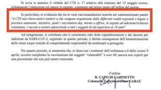La lettera pubblicata da Toti