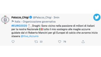 Mario Draghi scende in campo con l'Italia