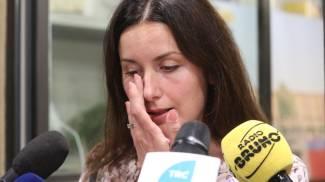 Le lacrime di Isabella Conti (foto Schicchi)