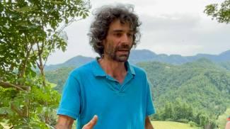 Leonardo Tanturli, il papà del bambino ritrovato (Fotocronache Germogli)