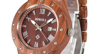 Orologio di Legno su amazon.com
