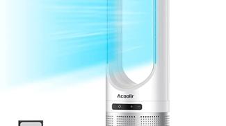 Ventilatore a Torre Senza Pale su amazon.com