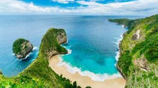 1. Kelingking Beach, Nusa Penida, Bali – 4227 foto per metro