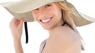 Cappello di paglia su amazon.com
