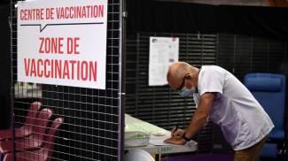 Le prenotazioni dei vaccini in Francia (Ansa)