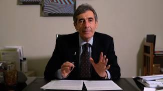 Fabio Battistini, 64 anni, candidato civico appoggiato dal centrodestra