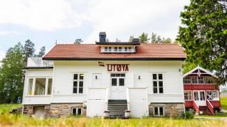 La casa dove si teneva il convegno dei giovani attivisti laburisti uccisi a Utoya
