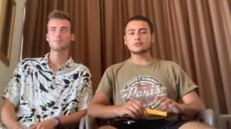 Un momento del video dei ragazzi in quarantena a Malta