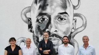 Daniele Capecchi, il sindaco Tomasi, l'assessore Sabella, Elisa Maltinti e Massimo Capecch