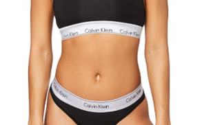 Calvin Klein Bralette/Thong su amazon.com