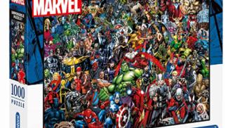 Marvel Impossible Puzzle su amazon.com