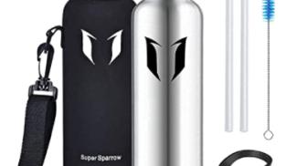 Super Sparrow Borraccia Termica su amazon.com