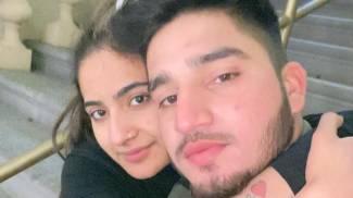 Saman Abbas con Saqib Ayub, il fidanzato della 18enne scomparsa