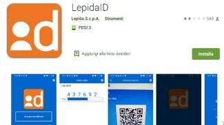 Lepida Id: la app che occorre staricare