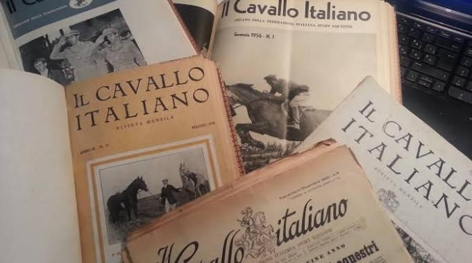 Vecchie, preziose copie de Il Cavallo Italiano