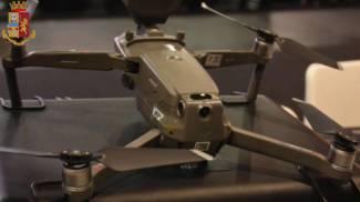 Il drone sequestrato
