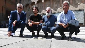 Paolo Bolognesi con le Sardine, Cucine popolari e Cantiere Bologna