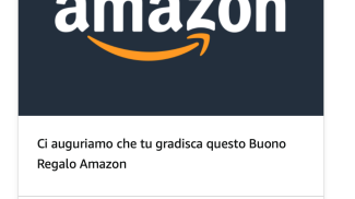 Buono Regalo su amazon.com