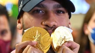 Le medaglie d'oro di Jacobs (Ansa)
