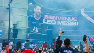 Messi al Psg, tifosi in delirio (Ansa)