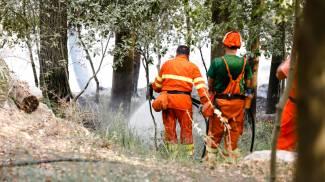 L'incendio nei territori di Giarratana e Monterosso Almo (Ragusa)