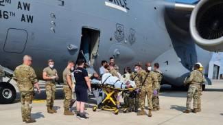 Il parto avvenuto a bordo di un aereo americano