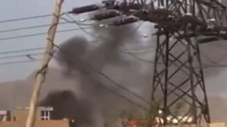 Prime immagini dell'esplosione a Kabul (twitter Al Arabiya)
