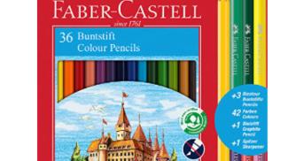 Faber-Castell - Matita Colorata su amazon.com