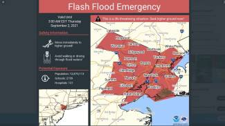 L'uragano Ida e l'emergenza a New York