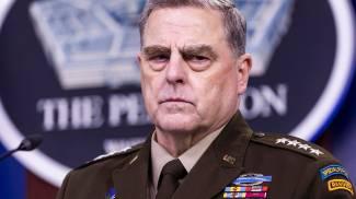 Il generale Mark Milley, capo di Stato maggiore dell'Esercito Usa (Ansa)