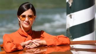 Benedetta Porcaroli alla Mostra del Cinema di Venezia (Ansa)