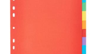 Divisori colorati Esselte su amazon.com