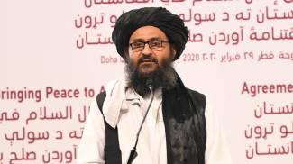 Abdul Ghani Baradar, cofondatore dei talebani, è il neo vice premier (Ansa)