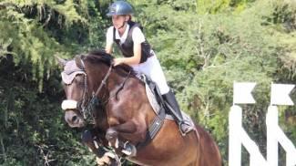 Alcune immagini di Cecilia Celli a cavallo