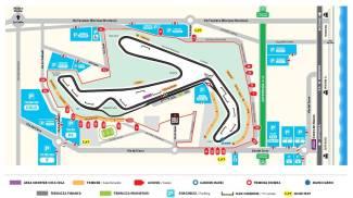 Misano MotoGp 2021, la mappa dei parcheggi