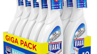 Anticalcare spray per bagno Viakal su amazon.com