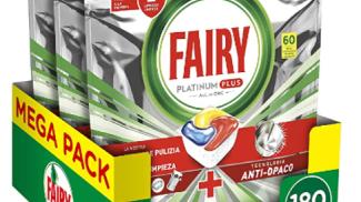 Pastiglie Fairy Platinum per lavastoviglie su amazon.com