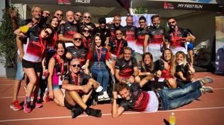 Il team della 26esima edizione della Acea Run Rome The Marathon