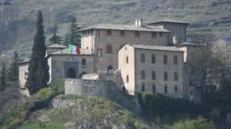 Il castel Masegra a Sondrio