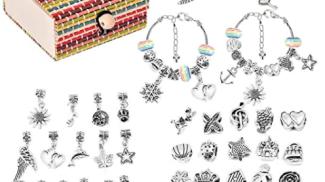 Kit per fare braccialetti su amazon.com