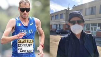 Alex Schwazer e il medico sportivo pesarese Bruno Fabbri, insieme a Pechino Express 2022