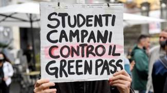Manifestazione degli studenti universitari