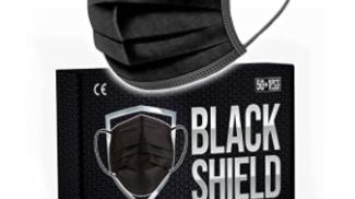 BLACK SHIELD - Mascherine Chirurgiche Certificate su amazon.com