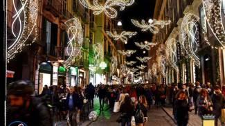 Luci di Natale a Napoli